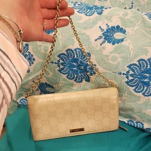 AUTHENTIC Gucci Wallet w/ Chain